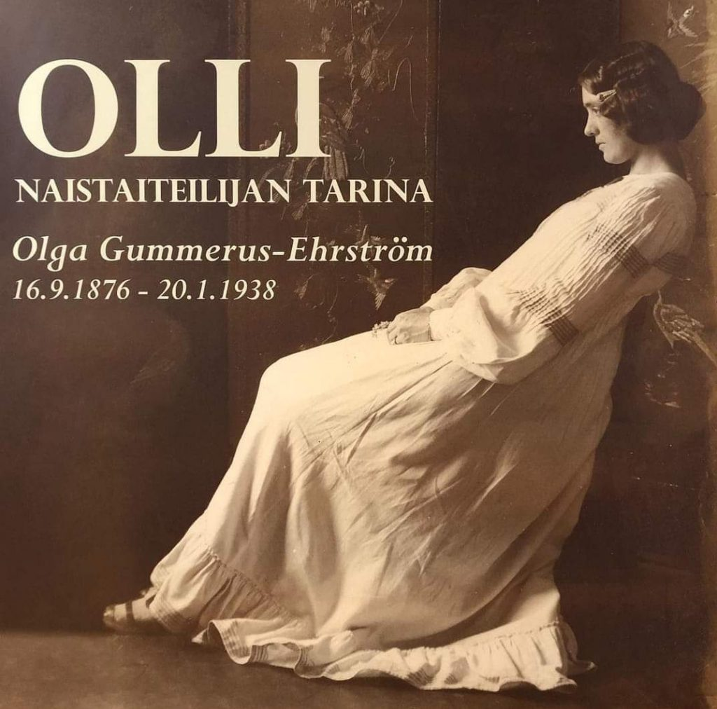 Olga Gummerus -näyttely Visavuoressa